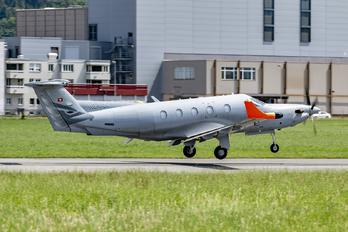 HB-FOG - Switzerland - Air Force Pilatus PC-12M Eagle