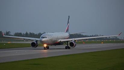 VQ-BQY - Aeroflot Airbus A330-300