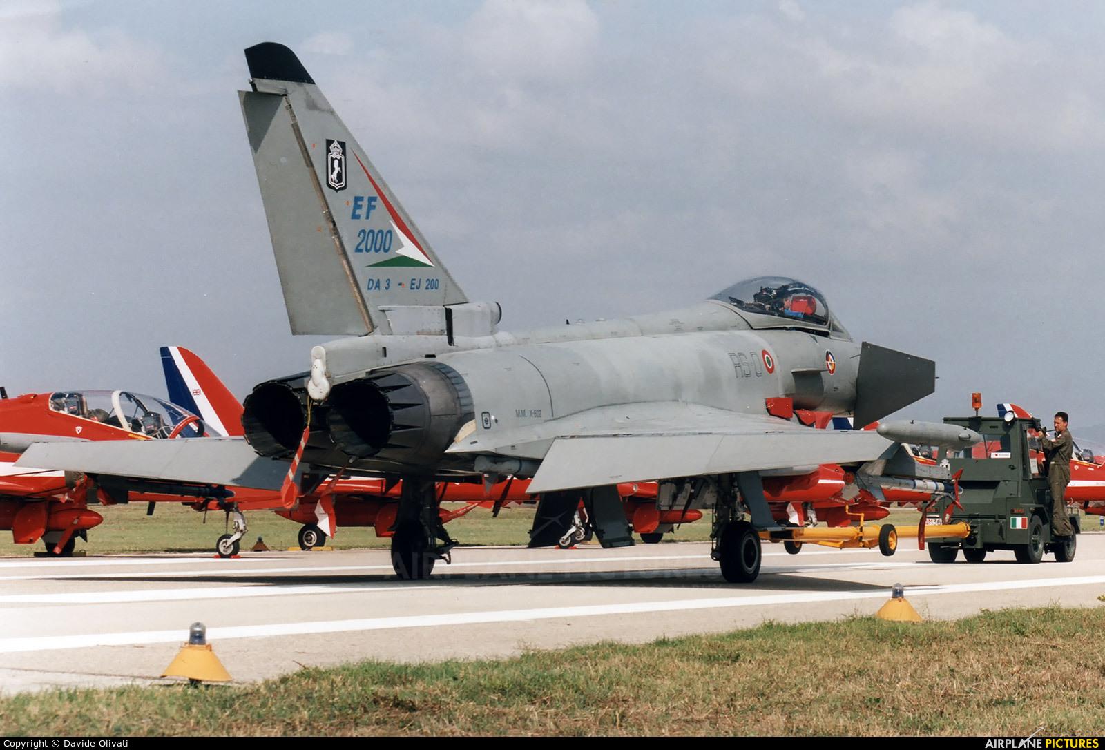 Italy - Air Force MMX-602 aircraft at Grosseto - Corrado Baccarini
