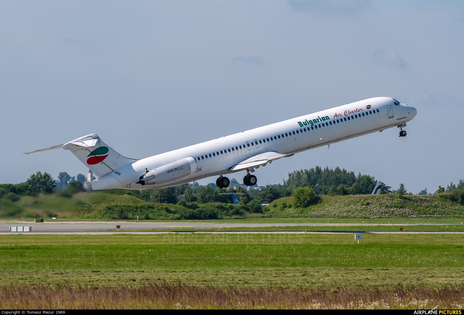 Bulgarian Air Charter LZ-LDS aircraft at Katowice - Pyrzowice