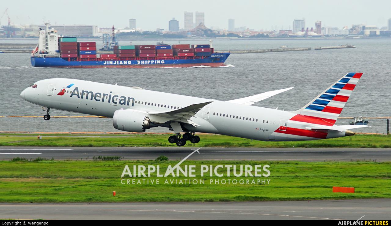 American Airways N826AN aircraft at Tokyo - Haneda Intl