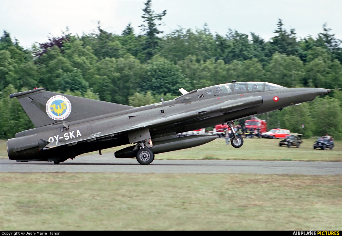 Private OY-SKA aircraft at Liège-Bierset