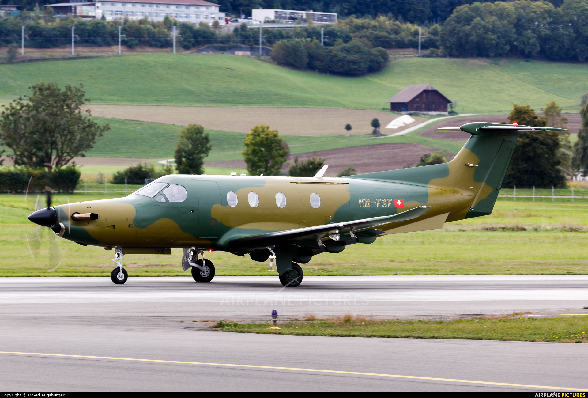 Private HB-FXF aircraft at Bern - Belp