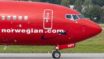 SE-RPT - Norwegian Air Sweden Boeing 737-800 aircraft