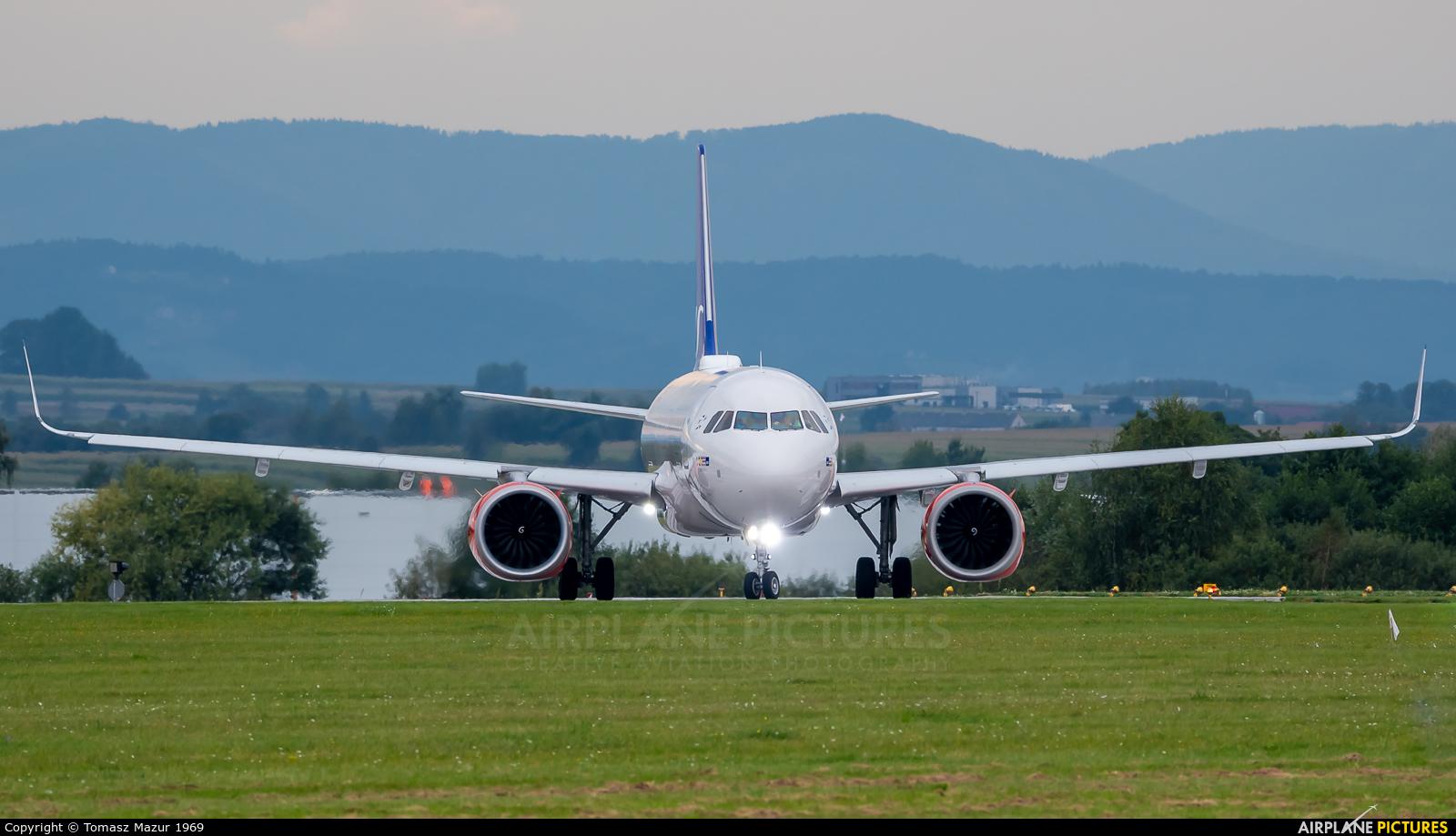 SAS - Scandinavian Airlines SE-RON aircraft at Kraków - John Paul II Intl