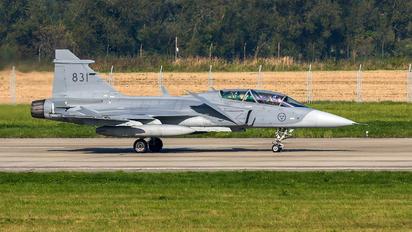 39831 - Sweden - Air Force SAAB JAS 39D Gripen