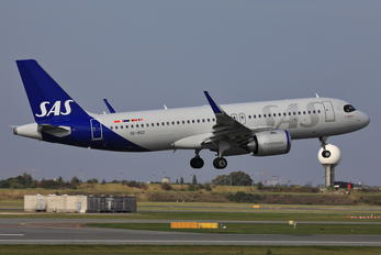 SE-ROZ - SAS - Scandinavian Airlines Airbus A320 NEO
