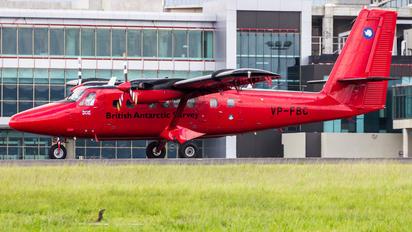 VP-FBC - British Antarctic Survey de Havilland Canada DHC-6 Twin Otter