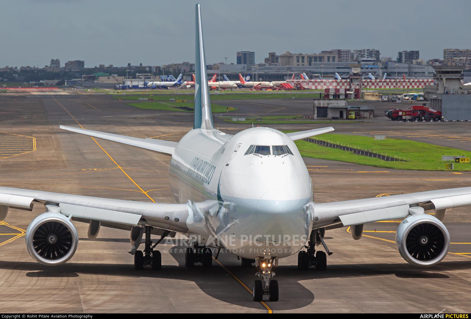 Cathay Pacific Cargo B-LJJ aircraft at Mumbai - Chhatrapati Shivaji Intl