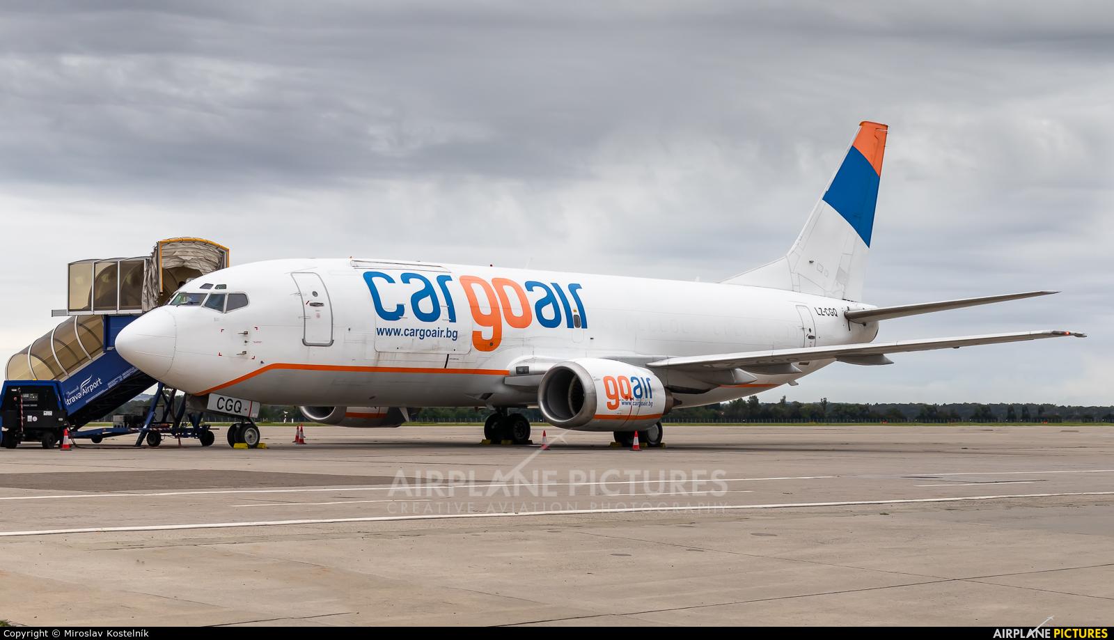 Cargo Air LZ-CGQ aircraft at Ostrava Mošnov