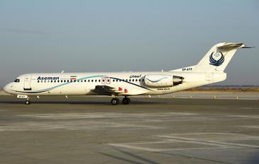 - - Iran Aseman Fokker 100