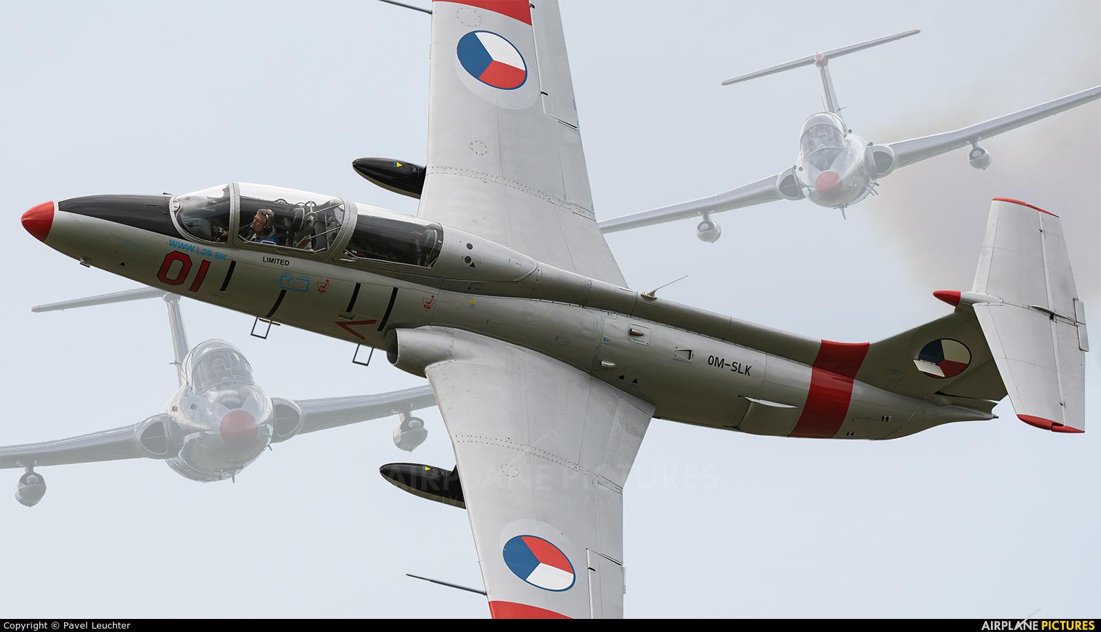 Private OM-SLK aircraft at Uherské Hradiště - Kunovice