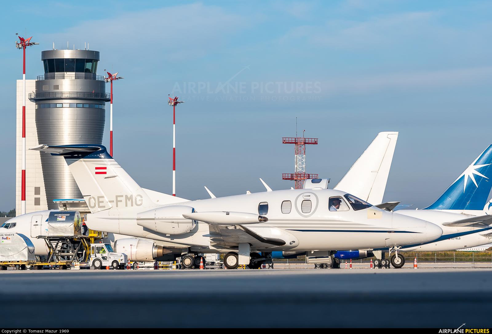 Mali Air Luftverkehr Gesellschaft OE-FMG aircraft at Katowice - Pyrzowice