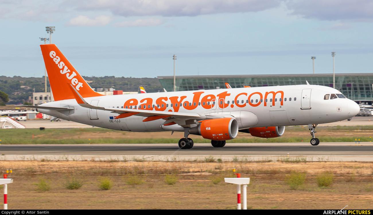 easyJet Europe OE-IJJ aircraft at Palma de Mallorca