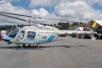 FAC4480 - Colombia - Air Force Bell 206B Jetranger III
