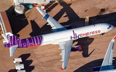 B-LEK - Hong Kong Express Airbus A321