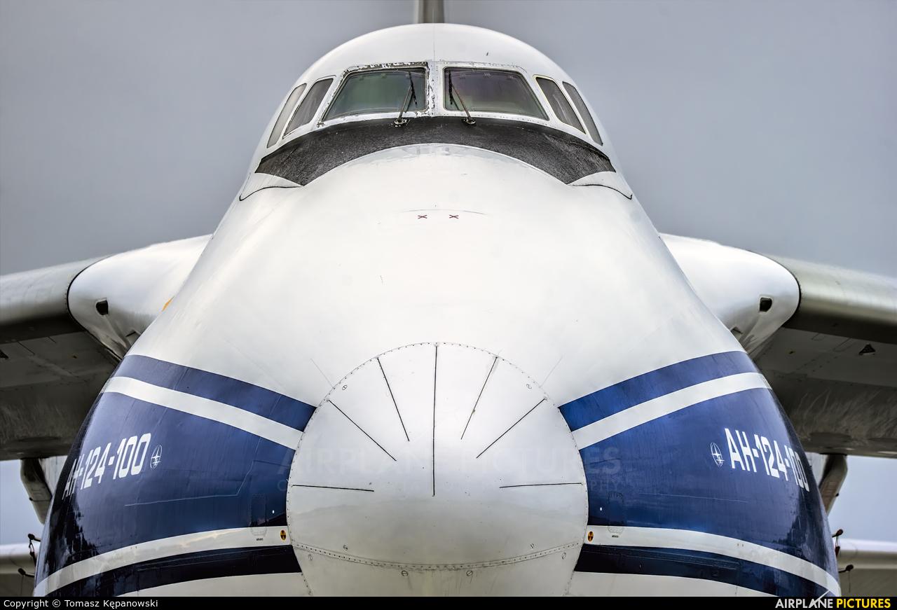 Volga Dnepr Airlines RA-82074 aircraft at Rzeszów-Jasionka