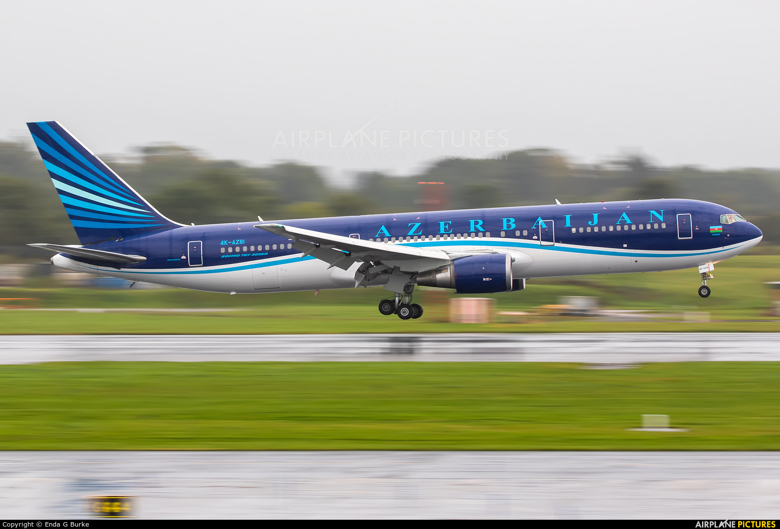 Azerbaijan Airlines 4K-AZ81 aircraft at Manchester