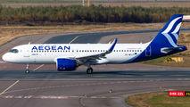 SX-NEA - Aegean Airlines Airbus A320 NEO aircraft