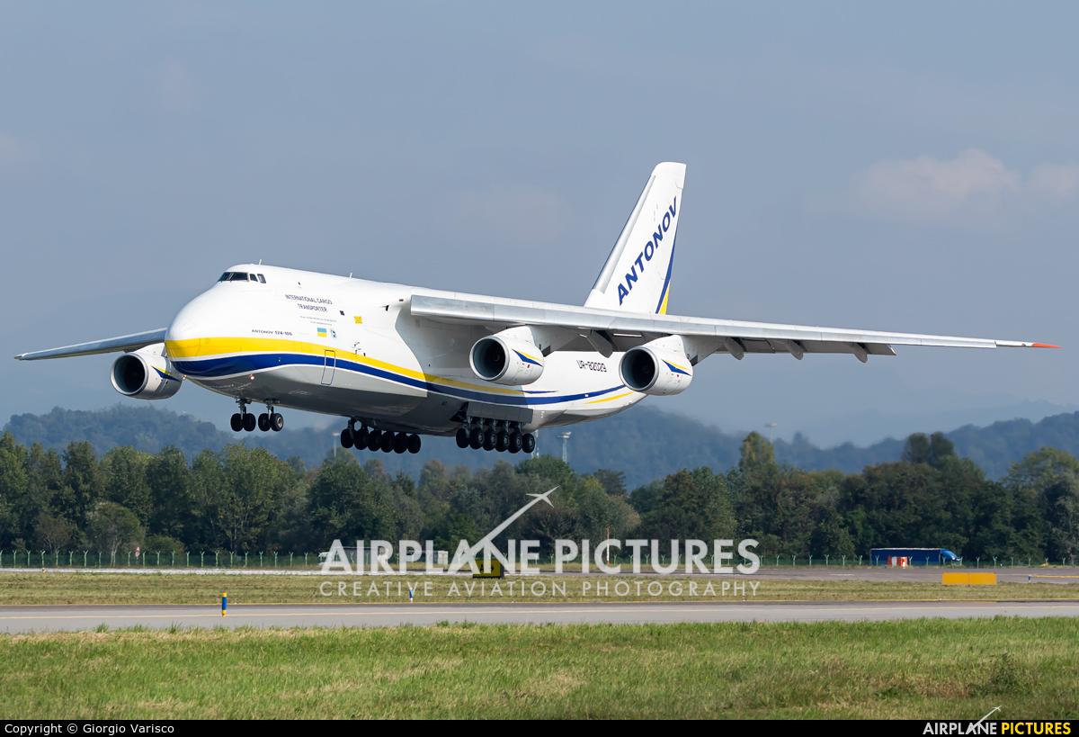 Antonov Airlines /  Design Bureau UR-82029 aircraft at Bergamo - Orio al Serio