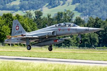 J-3212 - Switzerland - Air Force Northrop F-5F Tiger II