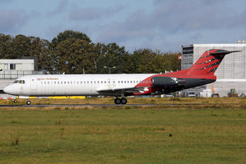 PH-ABW - Air Hollandia Fokker 100