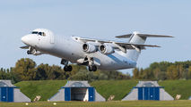 BAe 146 of Jota Aviation at Pardubice title=