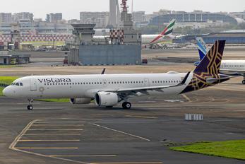 VT-TVA - Vistara Airbus A321 NEO