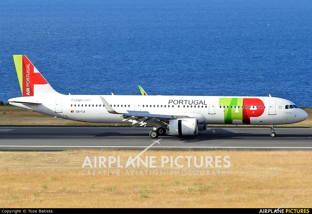 TAP Portugal CS-TJI aircraft at Azores - Ponta Delgada