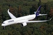 D-AIXM - Lufthansa Airbus A350-900 aircraft