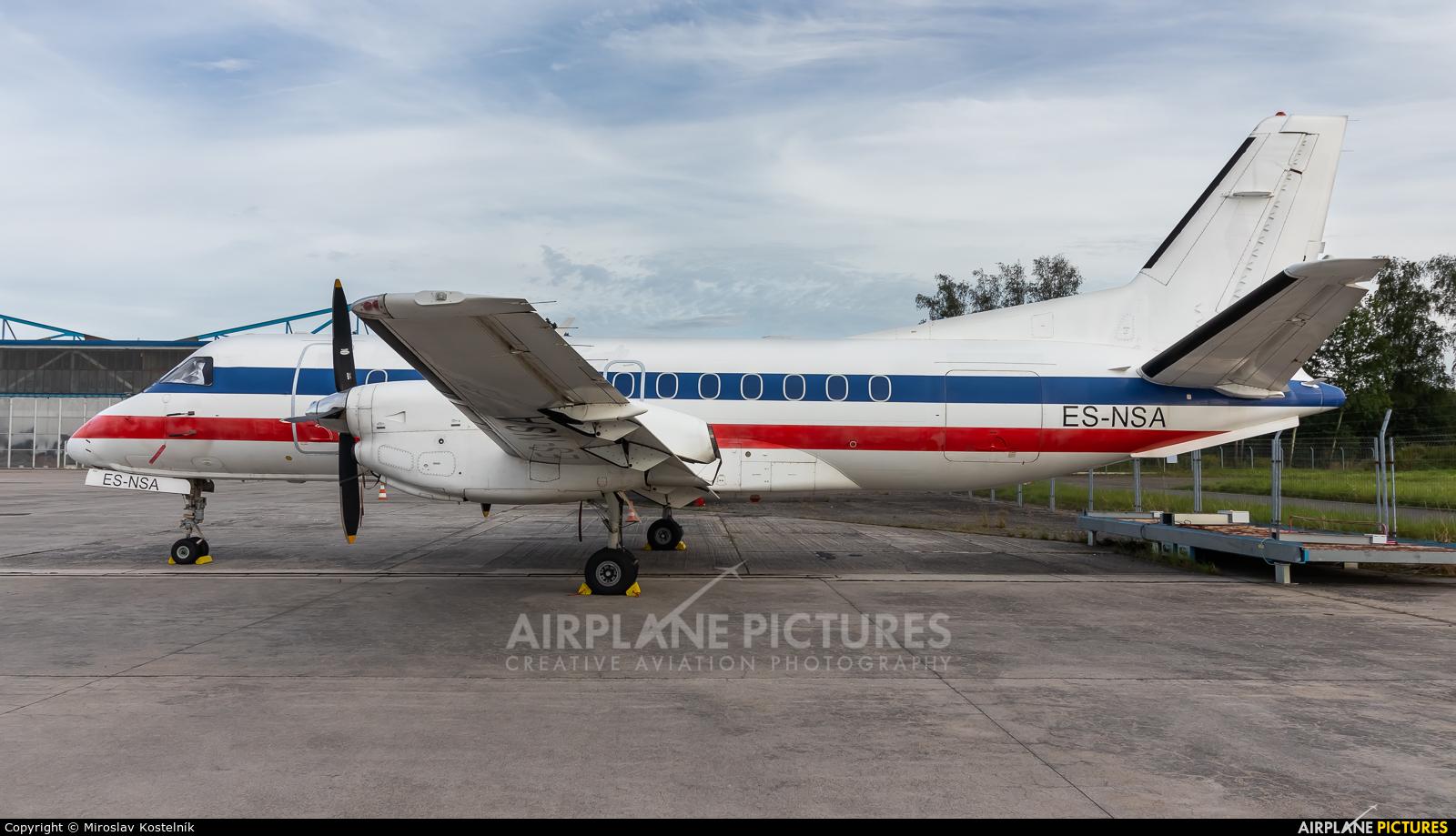 NYX AIR ES-NSA aircraft at Ostrava Mošnov