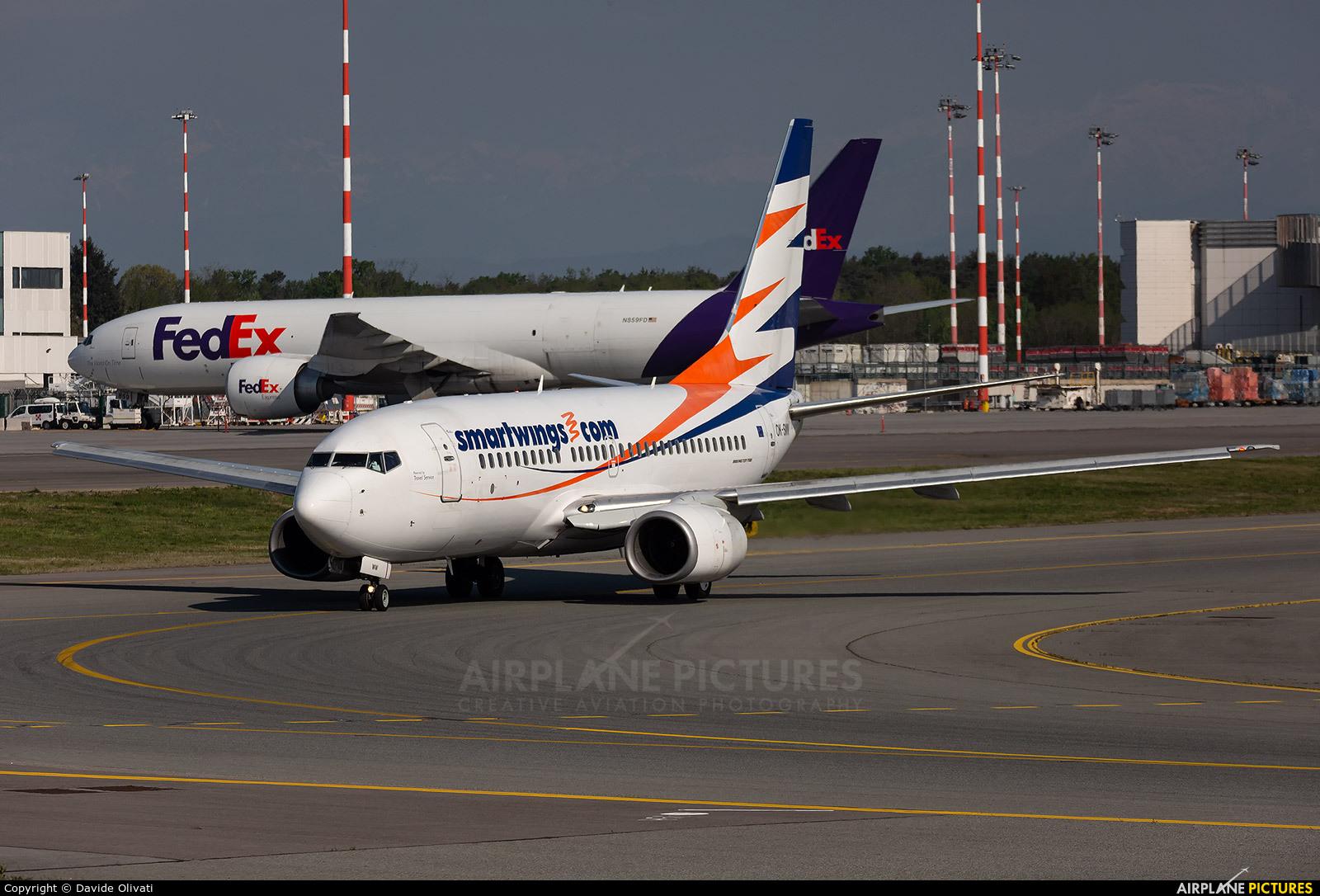 SmartWings OK-SWW aircraft at Milan - Malpensa