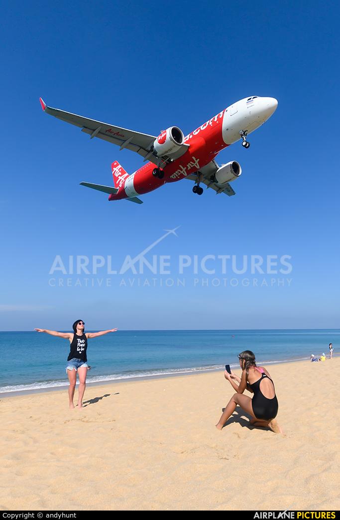 AirAsia (Thailand) HS-CBH aircraft at Phuket