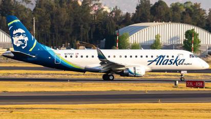 N179SY - Alaska Airlines - Skywest Embraer ERJ-175 (170-200)