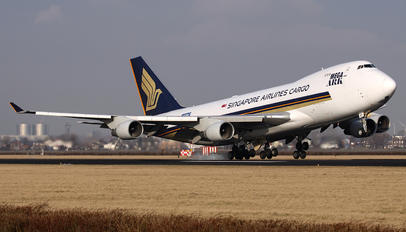 9V-SFD - Singapore Airlines Cargo Boeing 747-400F, ERF