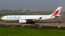 Rare visit of SriLankan Airlines A330 to Mumbai title=