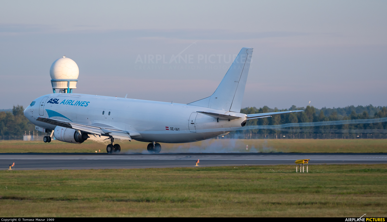 ASL Airlines Belgium OE-IAY aircraft at Katowice - Pyrzowice