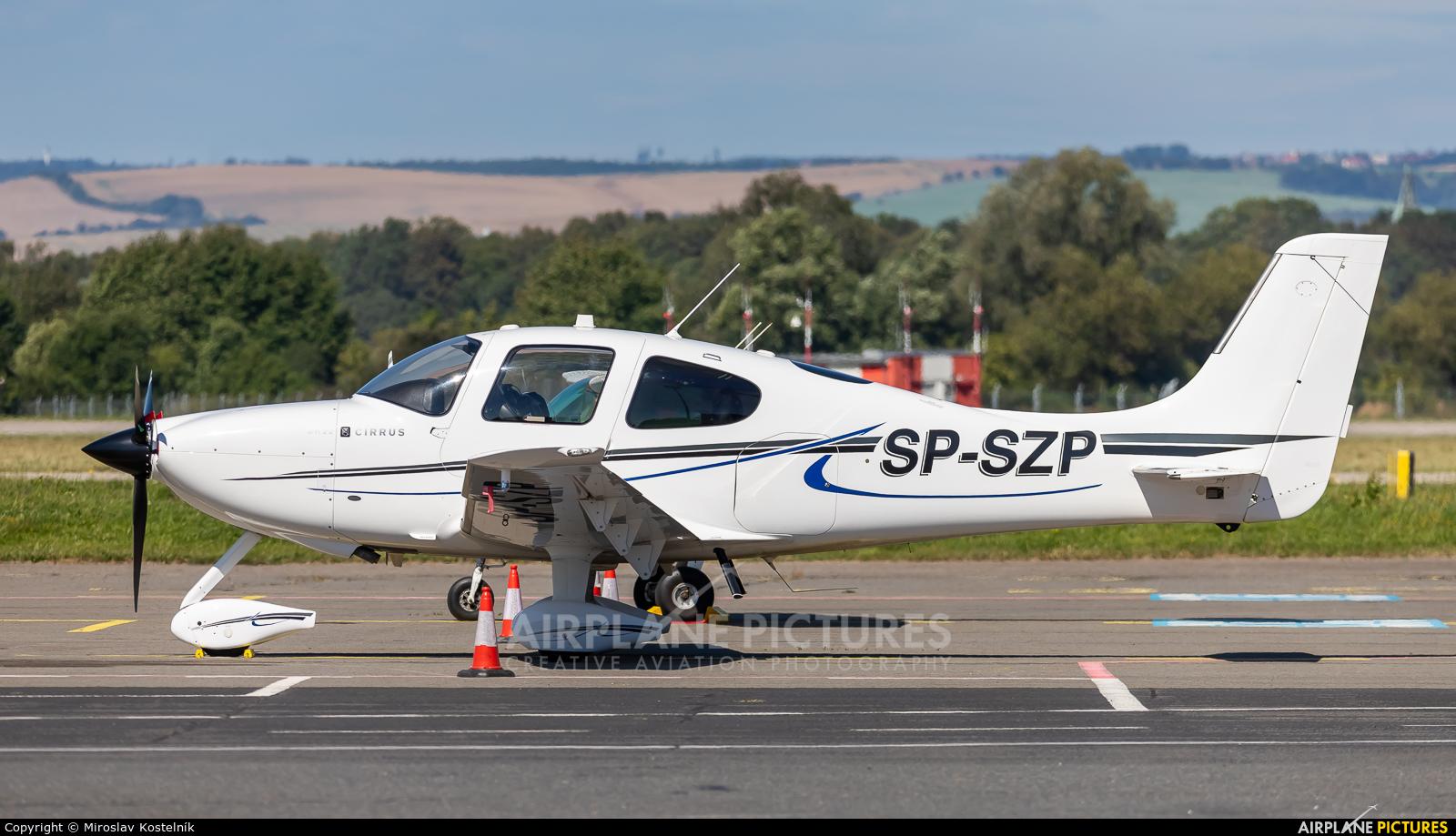 Private SP-SZP aircraft at Ostrava Mošnov