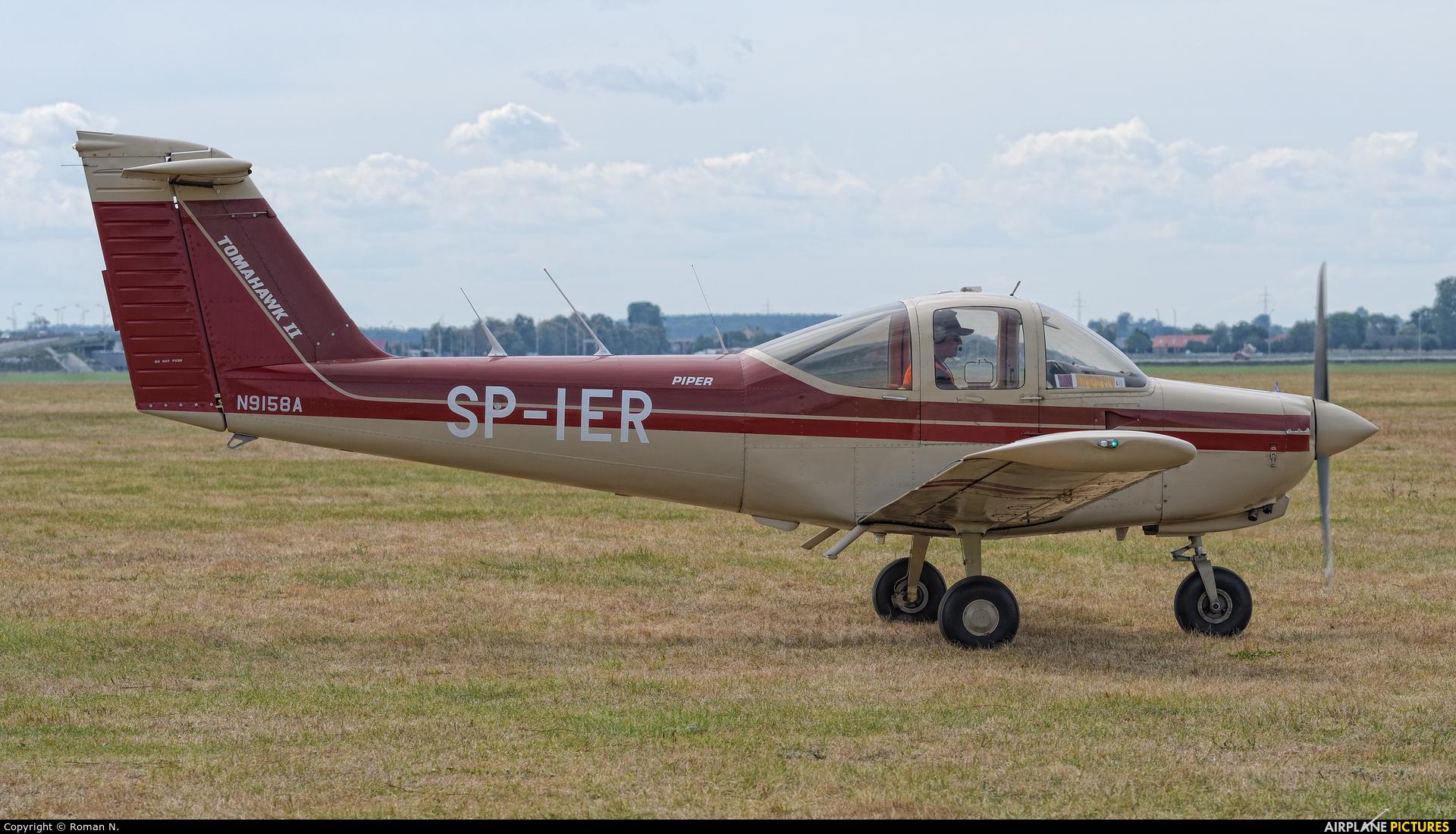 Private SP-IER aircraft at Leszno - Strzyżewice