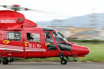 JA100F - Osaka Municipal Fire Department Eurocopter AS365 Dauphin 2