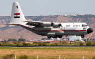 Egyptian Air Force VC-130 at Madrid Torrejon title=