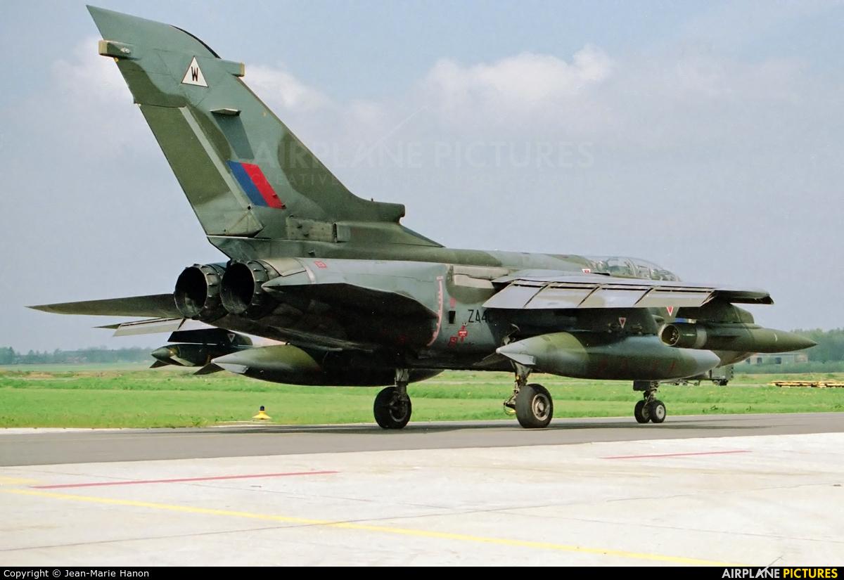 Royal Air Force ZA404 aircraft at Florennes