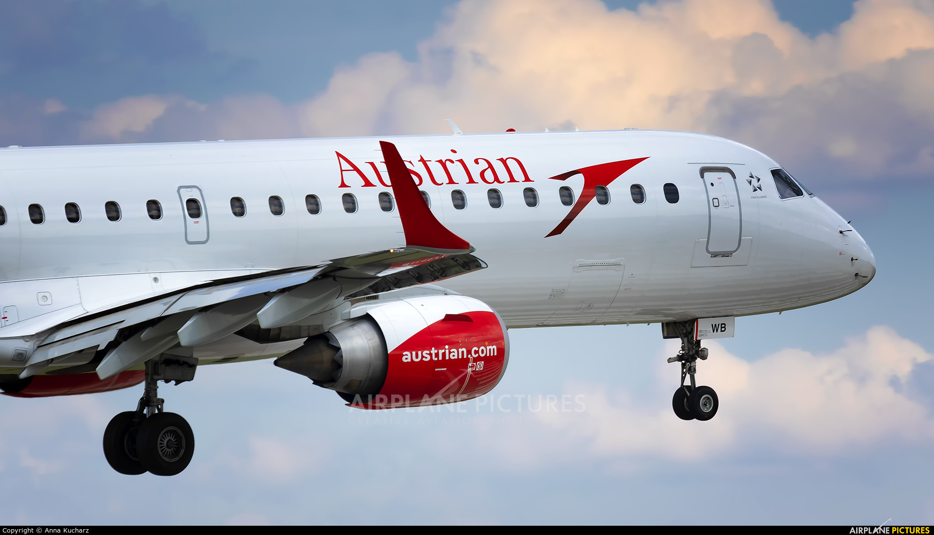 Austrian Airlines/Arrows/Tyrolean OE-LWB aircraft at Warsaw - Frederic Chopin