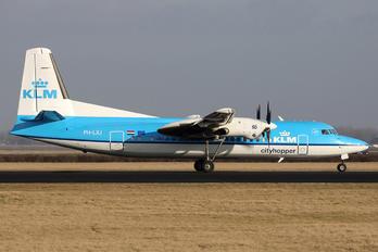 PH-LXJ - KLM Cityhopper Fokker 50