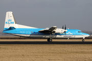 PH-LXJ - KLM Cityhopper Fokker 50 aircraft