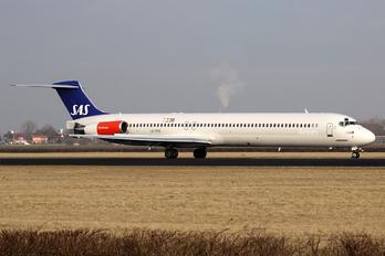 LN-RMD - SAS - Scandinavian Airlines McDonnell Douglas MD-82
