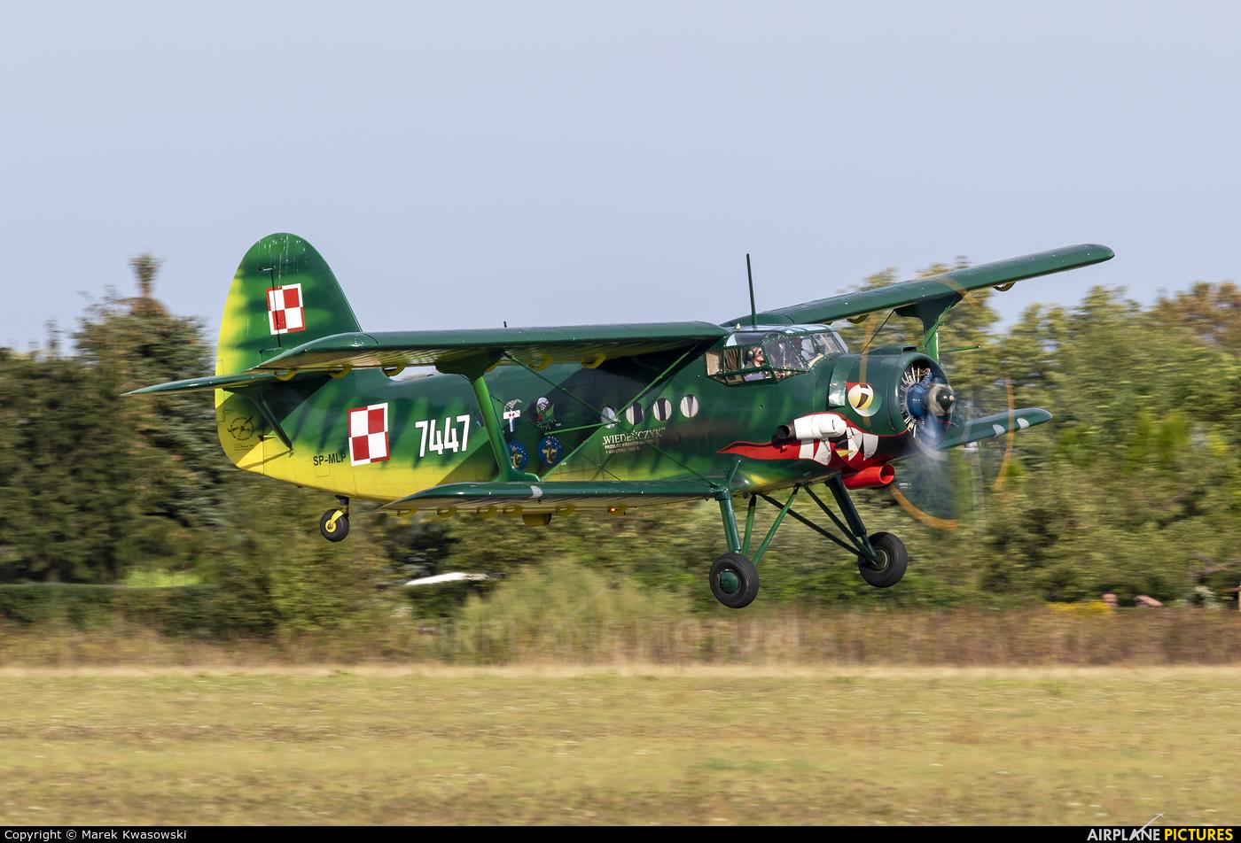 Museum of Polish Aviation SP-MLP aircraft at Piotrków Trybunalski