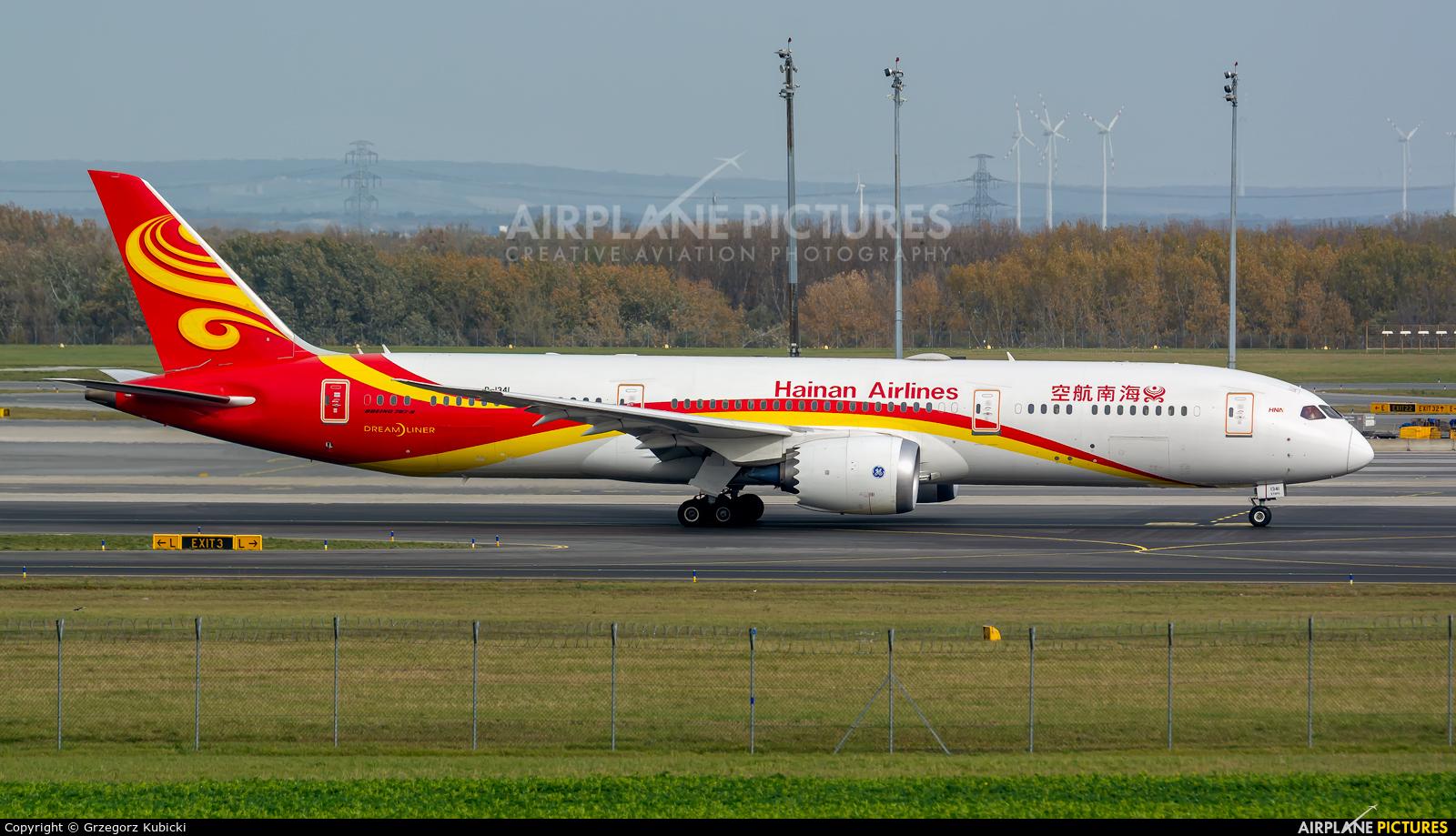 Hainan Airlines B-1341 aircraft at Vienna - Schwechat