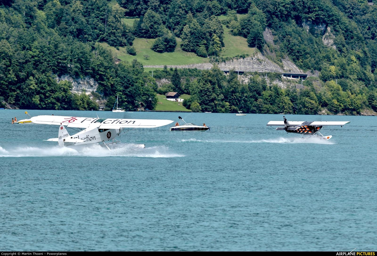Private HB-PMN aircraft at Bönigen