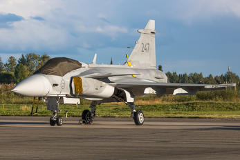 247 - Sweden - Air Force SAAB JAS 39C Gripen